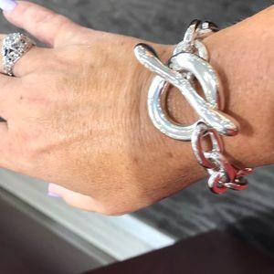 Robert Lee Morris Large Simple Toggle Bracelet
